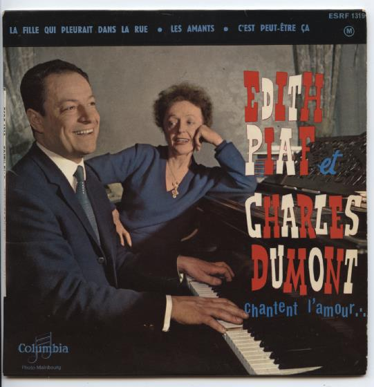 "EDITH PIAF & CHARLES DUMONT ""Chantent l'amour"" EP"