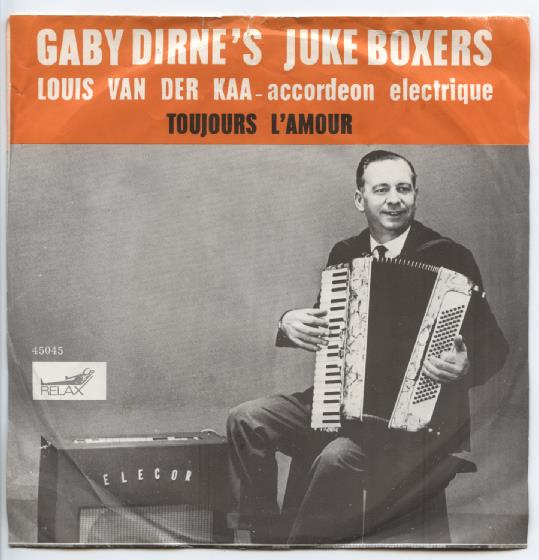 "GABY DIRNE'S JUKE-BOXERS ""Toujours l'amour"""