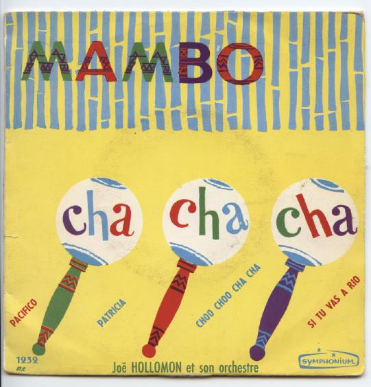 "JOE HOLLOMON ""Cha, Cha, Cha - Mambo vol. 2"" EP"