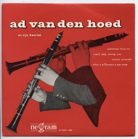 "AD VAN DEN HOED ""Somebody loves me"" EP"