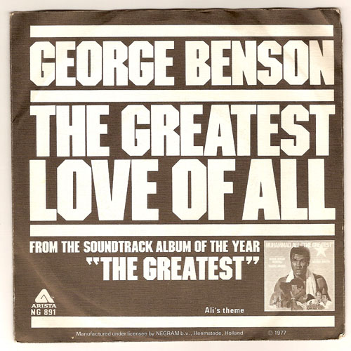 "GEORGE BENSON ""The greatest love of all"""