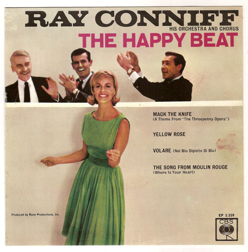 "RAY CONNIFF ""The Happy Beat"" EP"