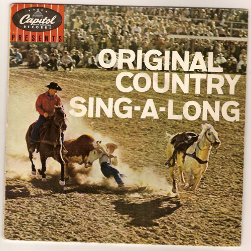 "CLIFFIE STONE ""Original Country sing-a-long"" EP"
