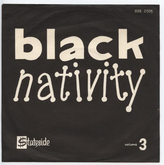 "BLACK NATIVITY ""The Black Nativity Show vol. 3"" EP"