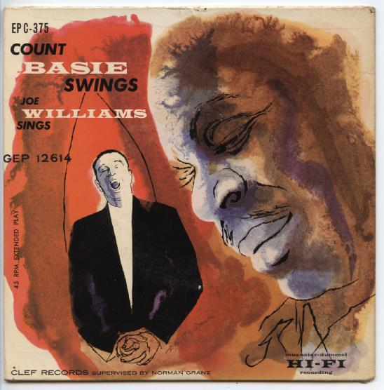 "COUNT BASIE ""Count Basie swings & Joe Williams sings"" EP"