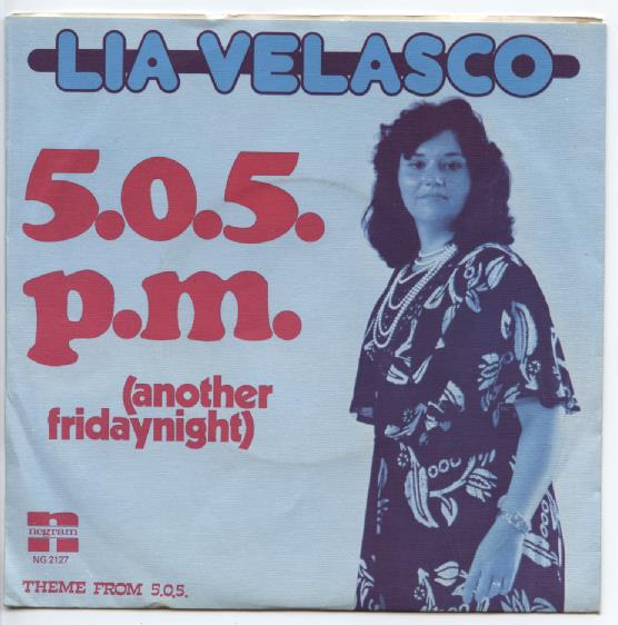 "LIA VELASCO ""5.0.5 p.m. (Another Friday night)"