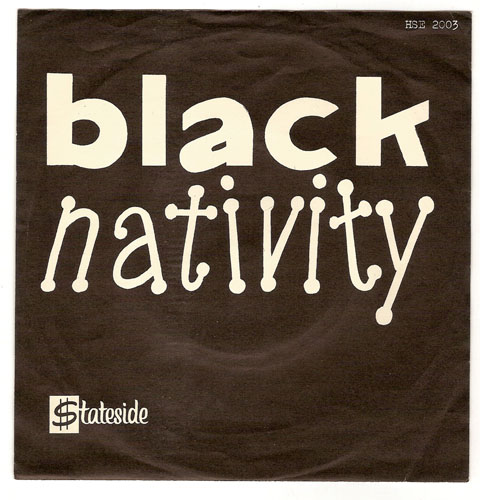"BLACK NATIVITY ""Christ is born"" EP"