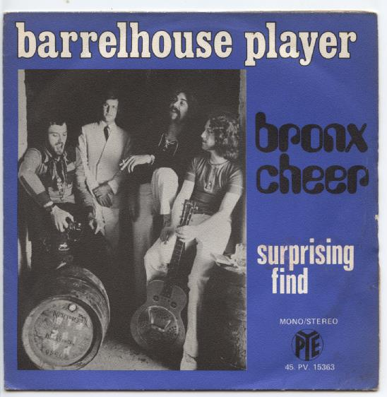 "BRONX CHEER ""Barrelhouse player"""