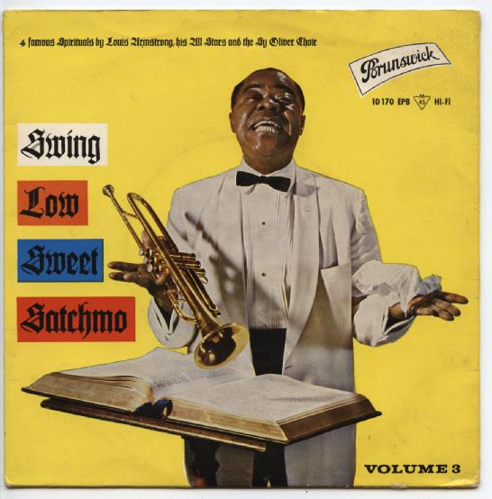 "LOUIS ARMSTRONG ""Swing low sweet Satchmo vol. 3"" EP"
