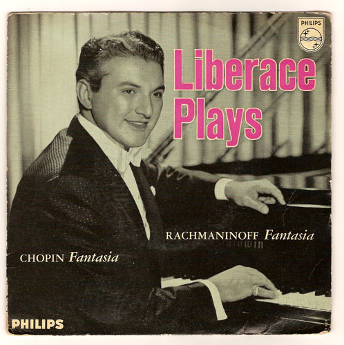 "LIBERACE ""Liberace plays Rachmaninoff and Chopin"""