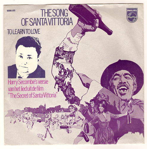 "HARRY SECOMBE ""The song of Santa Vittoria"""