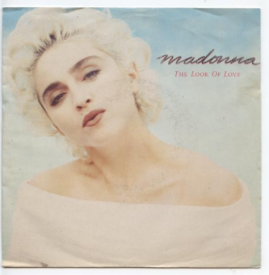 "MADONNA ""The look of love"""