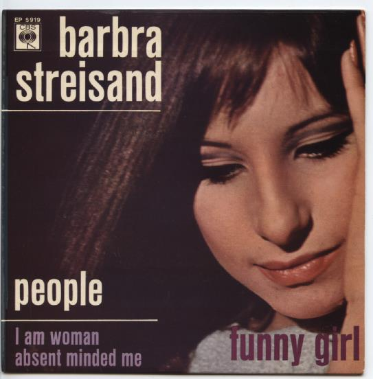 "BARBRA STREISAND ""People"" EP (A)"