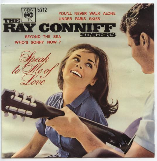 "RAY CONNIFF ""Speak to me of love"" EP"