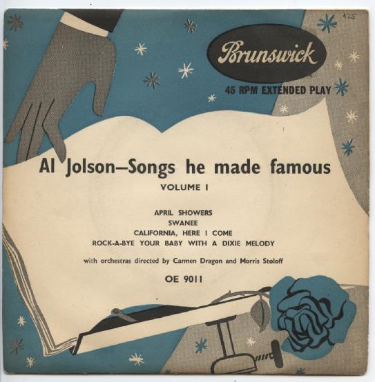 "AL JOLSON ""Songs he made famous"" EP"