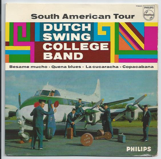 "DUTCH SWING COLLEGE BAND ""South American Tour"" EP"