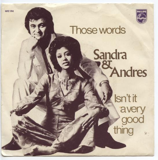 "SANDRA & ANDRES ""Those words"""