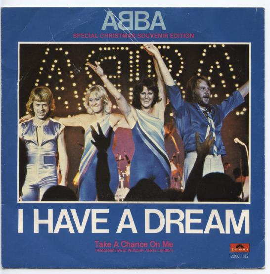 "ABBA ""I have a dream"""