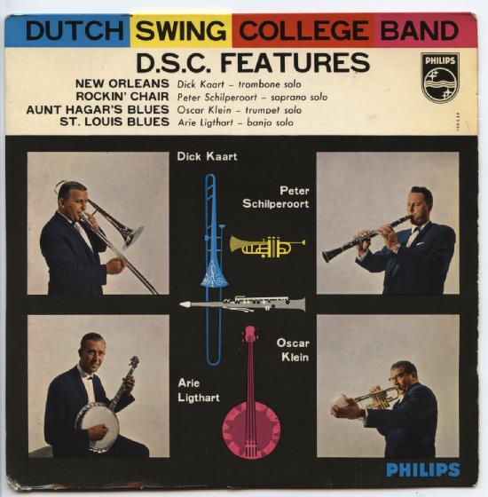 "DUTCH SWING COLLEGE BAND ""D.S.C. Features"" EP"