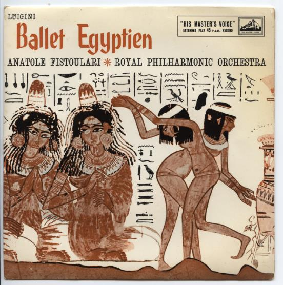 "ROYAL PHILHARMONIC ORCHESTRA ""Ballet Egyptien"" EP"
