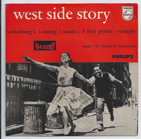 "WEST SIDE STORY ""Something's coming"" EP (A)"
