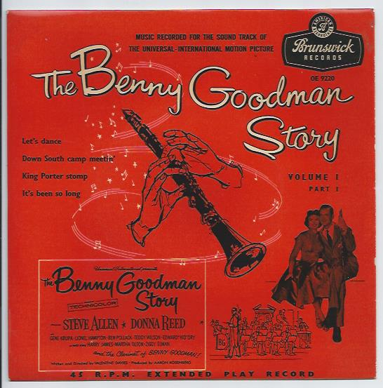 "BENNY GOODMAN ""The Benny Goodman Story, vol. 1, part 1"" EP"
