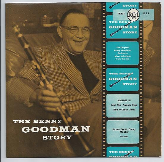 "BENNY GOODMAN ""The Benny Goodman Story, vol. 3"" EP"