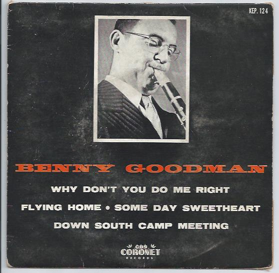 "BENNY GOODMAN ""Why don't you do right"" EP"