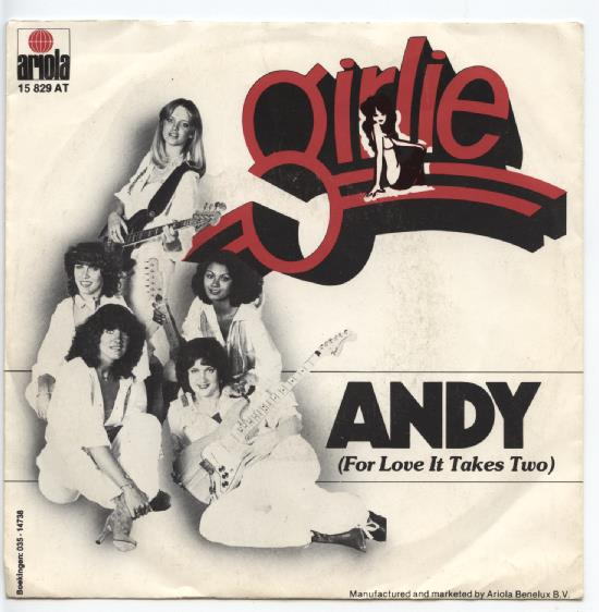 "GIRLIE ""Andy (for love it takes two)"""