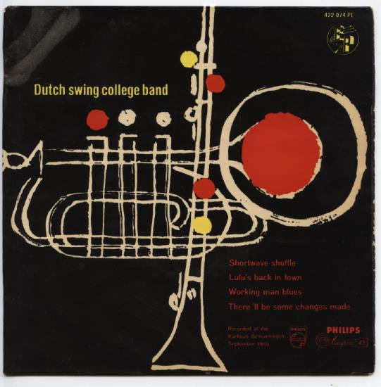 "DUTCH SWING COLLEGE BAND ""Shortwave shuffle"" EP"