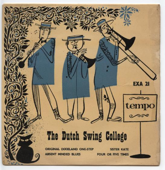 "DUTCH SWING COLLEGE BAND ""Original Dixieland One-step"" EP"