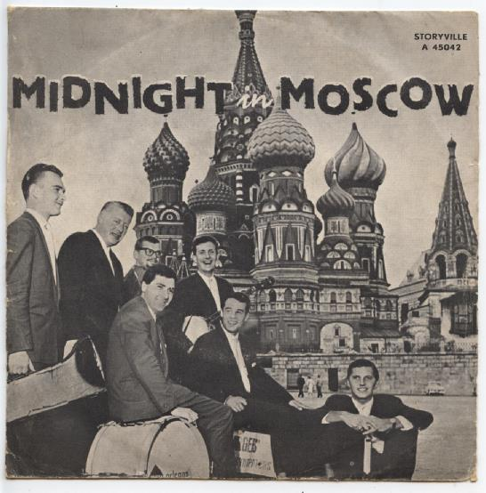 "JAN BURGERS & HIS NEW ORLEANS SYNCOPATORS ""Midnight in Moscow"""
