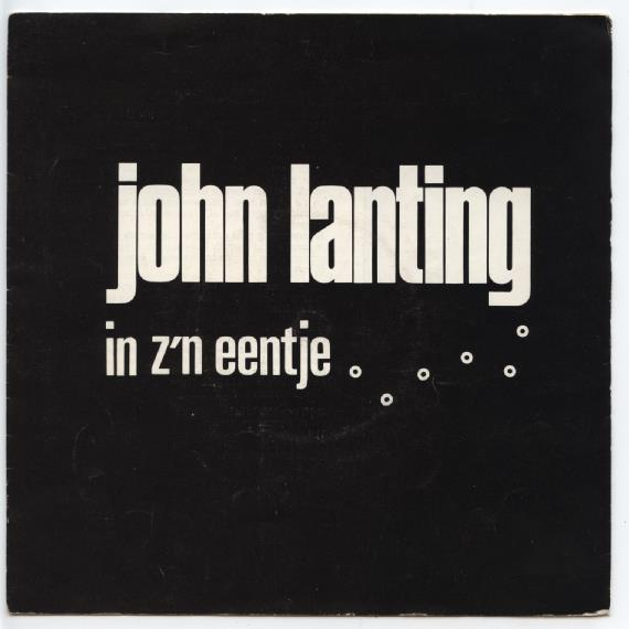 "JOHN LANTING ""In z'n eentje"" (flexi-disc)"