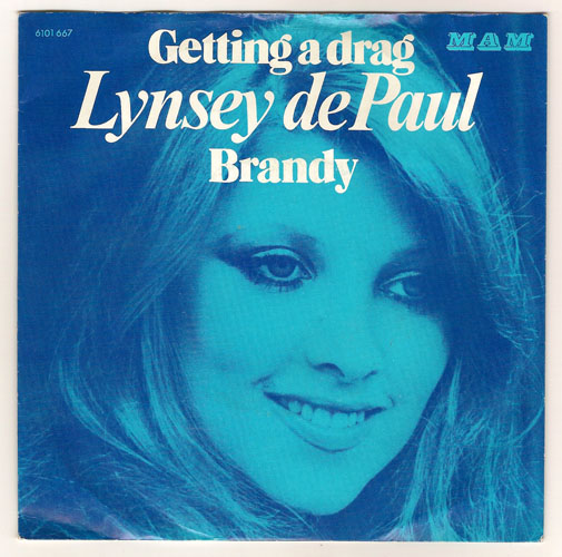 "LYNSEY DE PAUL ""Getting a drag"""