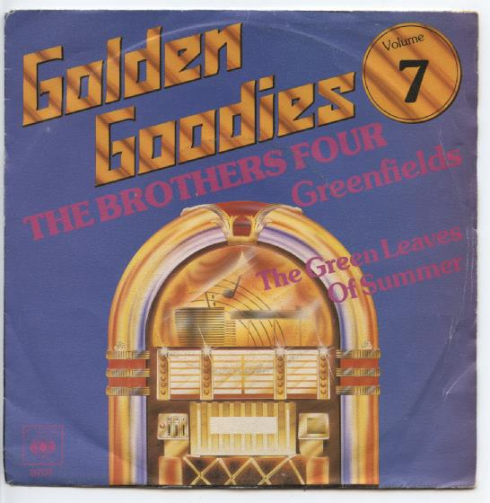 "GOLDEN GOODIES 7 ""The Brothers Four"" (jb)"