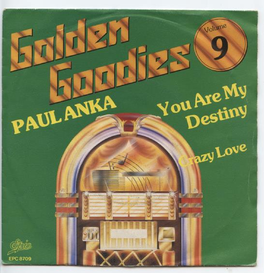 "GOLDEN GOODIES 9 ""Paul Anka"" (jb)"