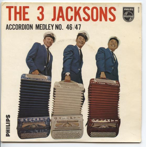 "THREE JACKSONS ""Accordeon medley no. 46-47"" EP"