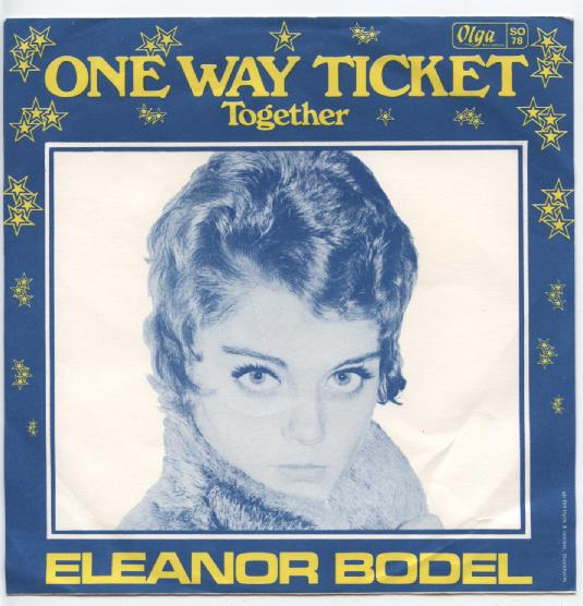 "ELEANOR BODEL ""One way ticket"""