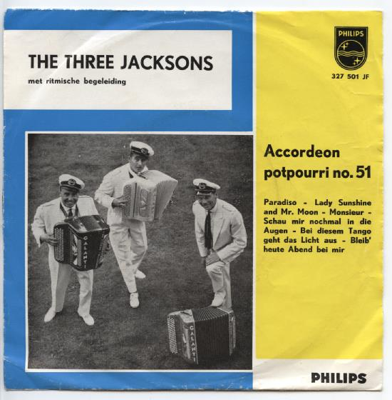 "THREE JACKSONS ""Accordeon potpourri no. 51"""
