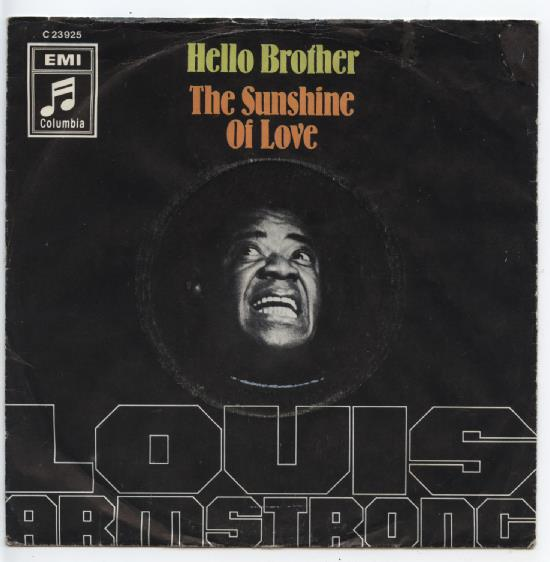 "LOUIS ARMSTRONG ""Hello Brother"""