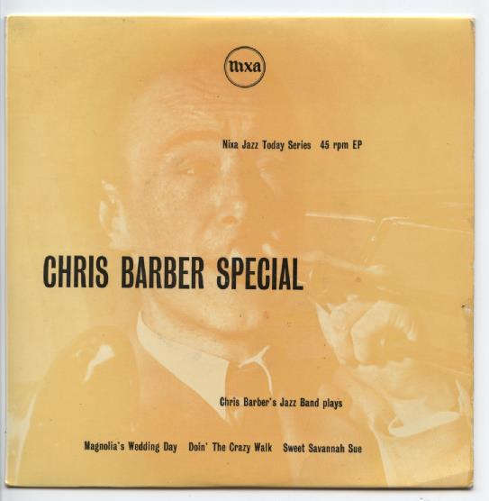 "CHRIS BARBER'S JAZZ BAND ""Chris Barber Special"" EP"
