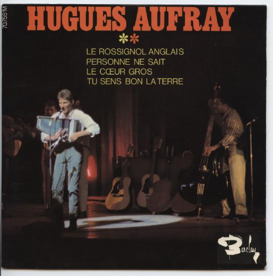 "HUGUES AUFRAY ""Le rossignol Anglais"" EP"