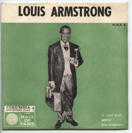 "LOUIS ARMSTRONG ""St. Louis Blues"" EP"