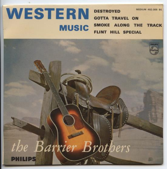 "BARRIER BROTHERS ""Western Music"" EP"