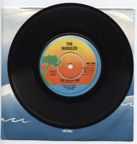 "BUGGLES ""The plastic age"" (gbr)"