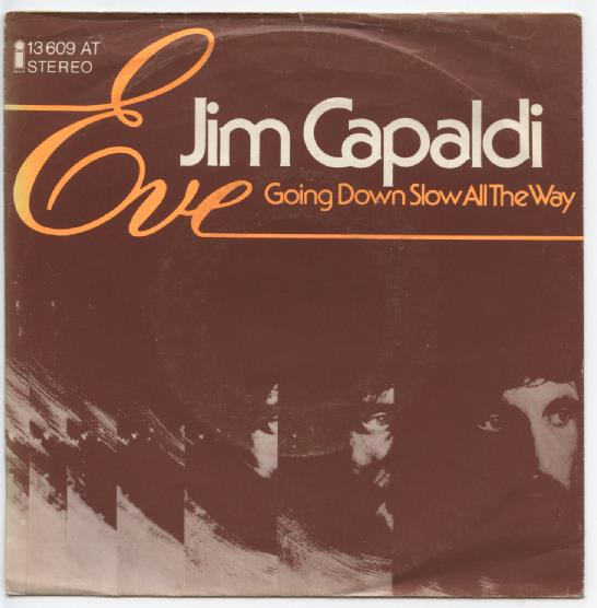 "JIM CAPALDI ""Eve"""