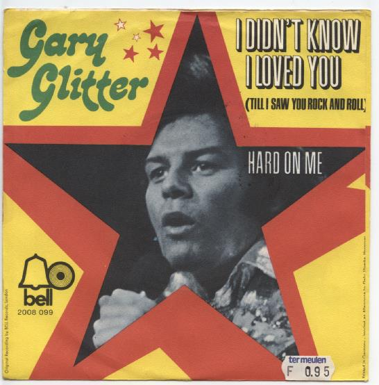 "GARY GLITTER ""I didn't know I loved you"""
