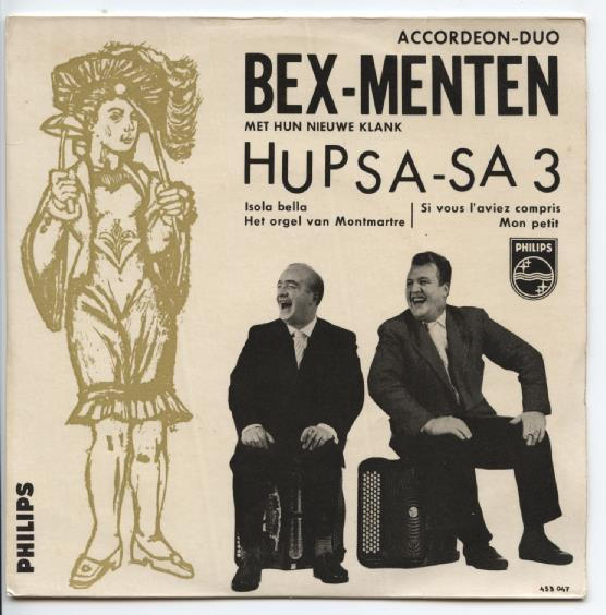 "ACCORDEON DUO BEX-MENTEN ""Hupsa-sa nr. 3"" EP"