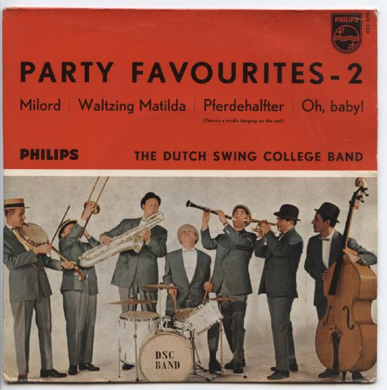 "DUTCH SWING COLLEGE BAND ""Party Favourites vol. 2"" EP"