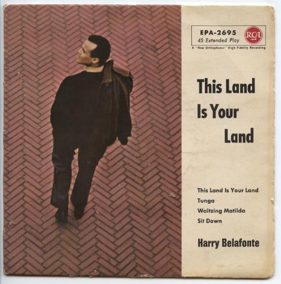 "HARRY BELAFONTE ""This land is your land"" EP"